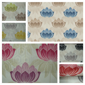 Floral Curtain Fabric
