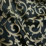 Black Curtain Material