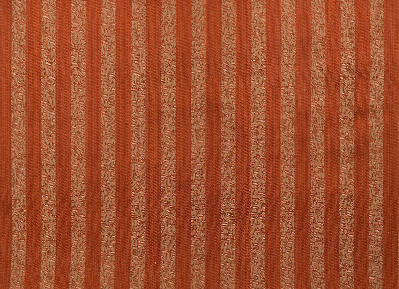 Terracotta Stripes Fabric