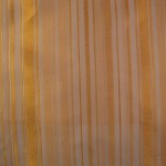 Orange Striped Curtain Fabric