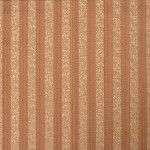 Brown and gold Stripes Curtain Fabric