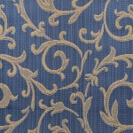 Curtain Fabric in Blue