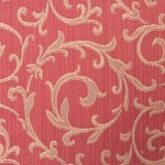 Red and Gold curtain fabric