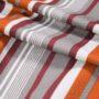 Striped Velvet Curtain Fabric