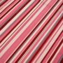 Pink stripes curtain fabric