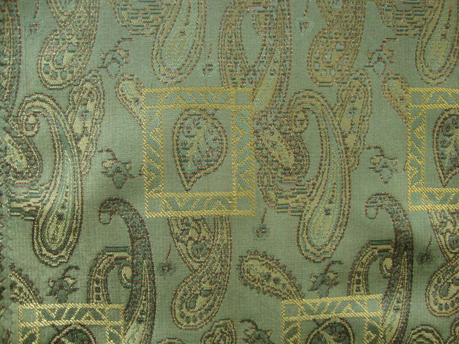 Mughal curtain fabric paisley curtains fabric curtain for Curtain fabric