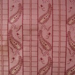 Pink Paisley Fabric