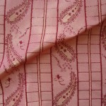 Pink Paisley Fabric