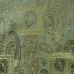 Paisley curtains fabric