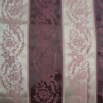 Purple Stripes Curtains Fabric