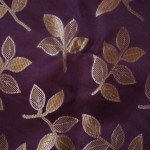 Dark purple curtain fabric