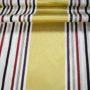 Gold Stripes curtain fabric