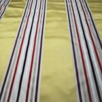 Gold Stripes curtain fabric
