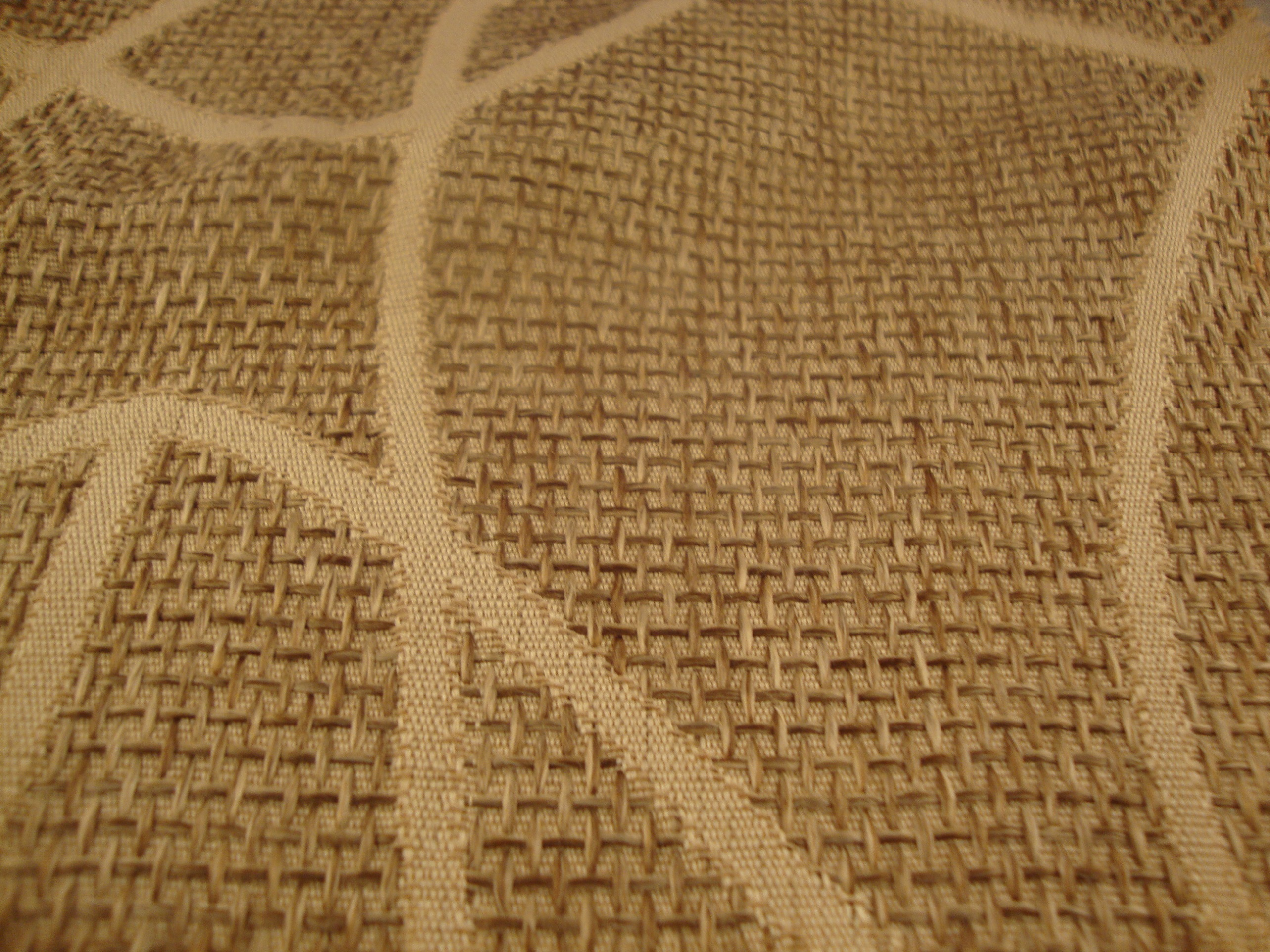 Types Of Material For Basket Weaving : Basket weave curtain fabric