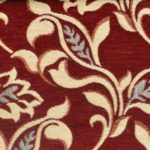 Red Curtain and upholstery fabric