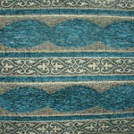 Blue Curtains Material