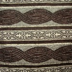 Brown Curtain Fabric