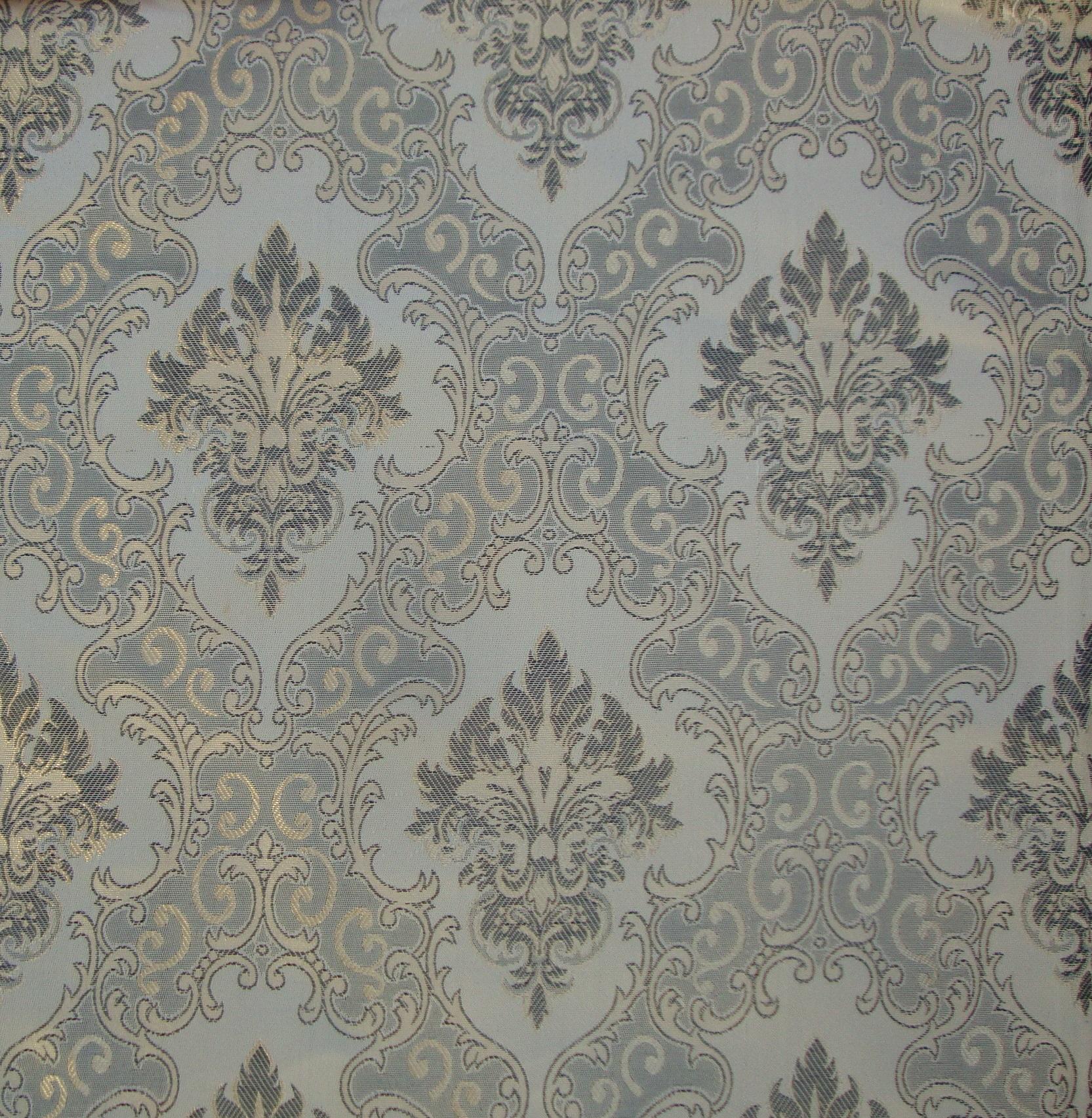 Modena Designer Curtain Fabric Dark Grey Black