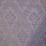 Purple Curtain Material