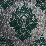 wilton Green curtain fabric