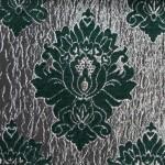 wilton Green curtain fabric