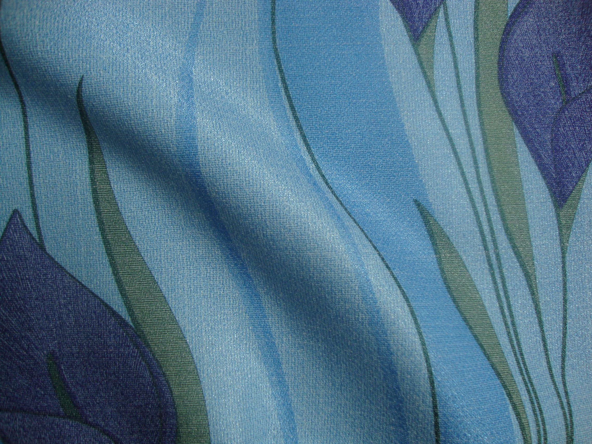 brundall peace lily printed curtain fabric