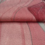 Brundall Pink curtain Fabric