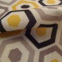 Geometric Print curtain fabric