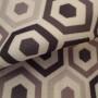 Belgrave Black Curtain Fabric