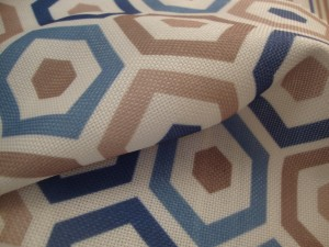 Belgrave Blue Curtain Fabric