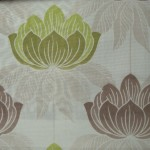 Lime Curtain Fabric