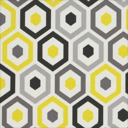 contemporary yellow and grey wallpaper
