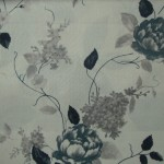 Meadows Grey Curtain Fabric