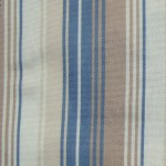 Nova Blue Stripes Curtain Fabric
