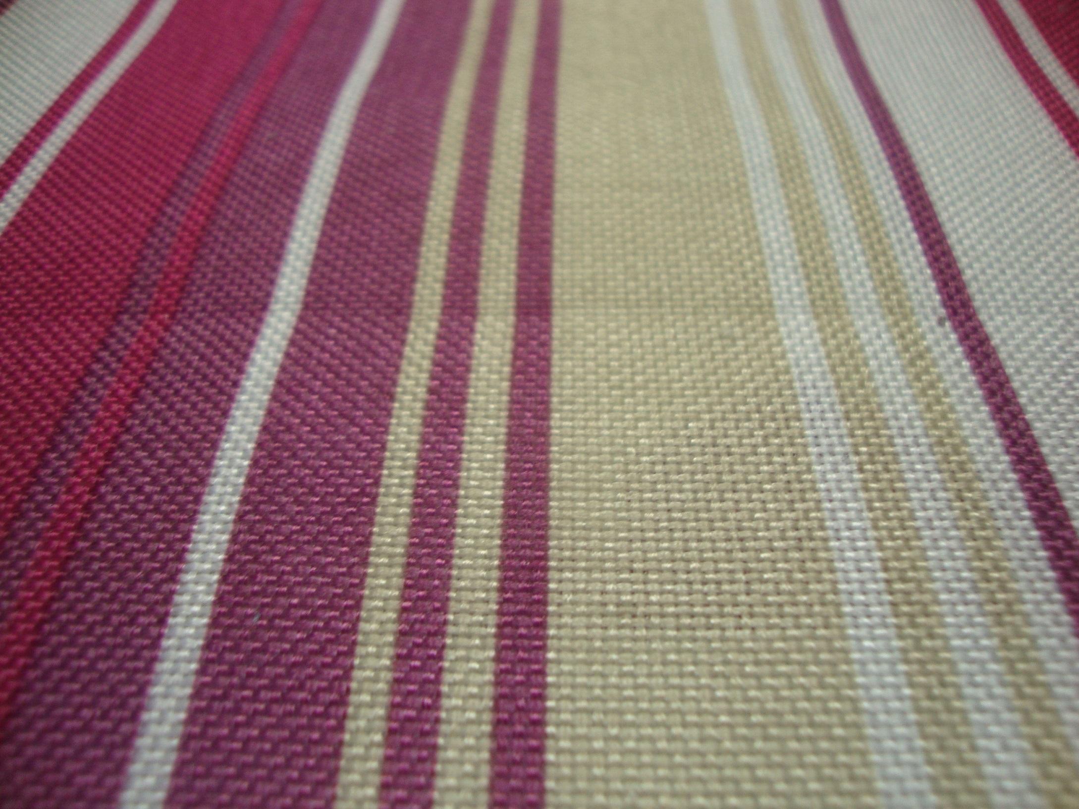 Nova Purple Stripes Curtain Fabric