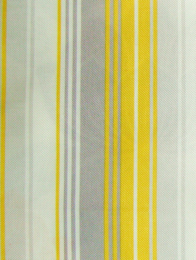 88 Yellow And White Striped Curtain Material Yellow And