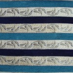 Striped Chenille Fabric