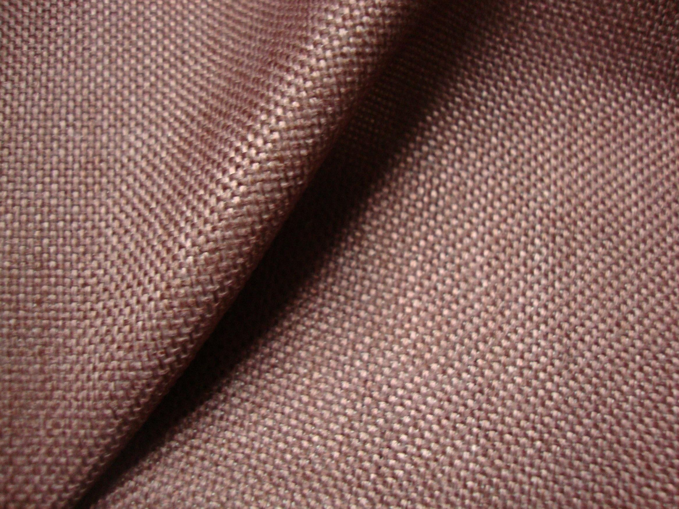 Plain Brown Curtain Fabric - Fantastic Cotton Mix Fabric