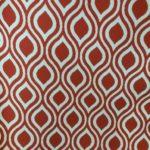art nouveau print fabric