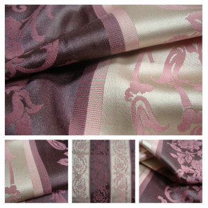 Purple Stripes Fabric
