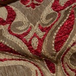 Woven Chenille Curtain Fabric