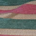 Pink Striped Curtain Fabric