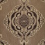 Brown curtains material
