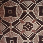 Brown curtain Material