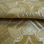 Gold curtain Material