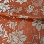 Floral fabric for curtains