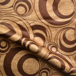 Curtain Material in Brown