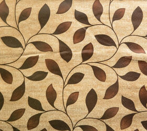 Ravello Curtain Fabric Brown