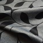 Grey Curtains Material