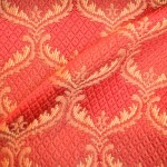 Red Curtaining Fabric